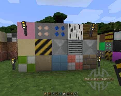 Memorys modern texture [16х][1.8.1] for Minecraft