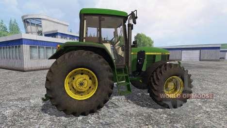 John Deere 6800 FL dirt for Farming Simulator 2015