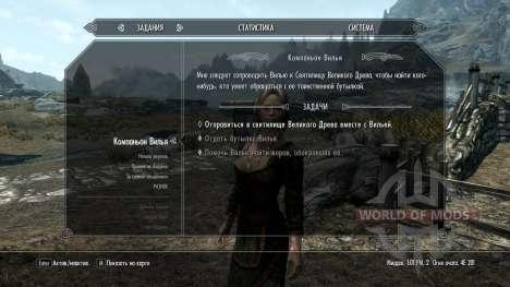 Vilja in Skyrim [4.01] for the fourth Skyrim screenshot