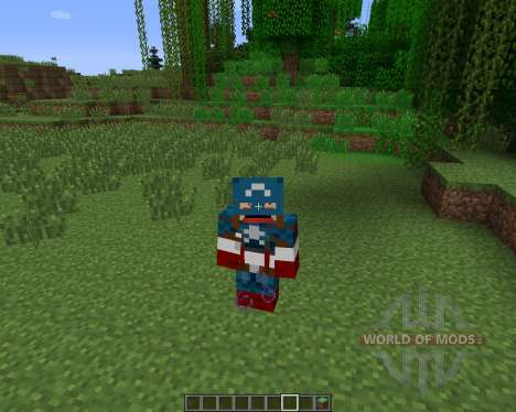 Super Heroes [1.6.2] for Minecraft