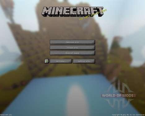 MauZi Realistic [16x][1.8.1] for Minecraft