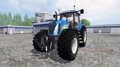 New Holland T8040 v4.1 for Farming Simulator 2015
