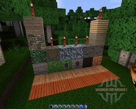 Intermacgod Realistic Medieval [128x][1.8.1] for Minecraft