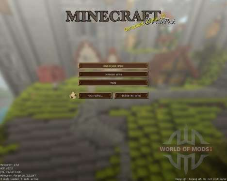 Will Pack [64x][1.7.2] for Minecraft