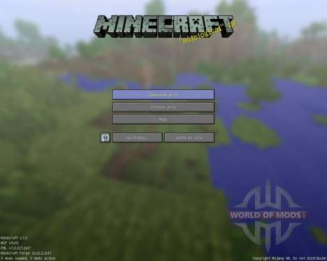 Rectangular Pack [128x][1.7.2] for Minecraft