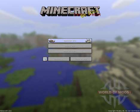 TANK PACK 2 [128х][1.8.1] for Minecraft