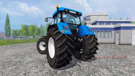 New Holland T7550 v2.0 for Farming Simulator 2015
