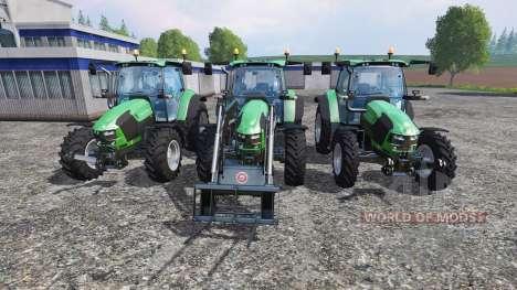 Deutz-Fahr 5110 TTV v2.0 for Farming Simulator 2015