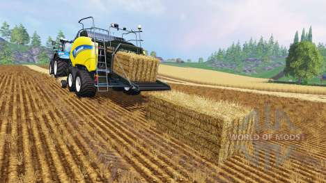 New Holland BigBaller 1290 for Farming Simulator 2015