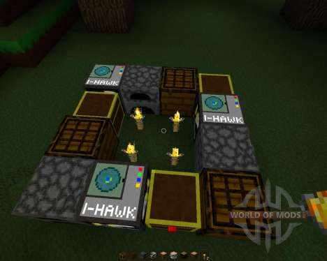 HawkPack [32x][1.7.2] for Minecraft