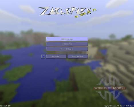 ZaclePack [128x][1.8.1] for Minecraft