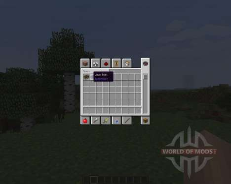 LavaBoat [1.7.2] for Minecraft