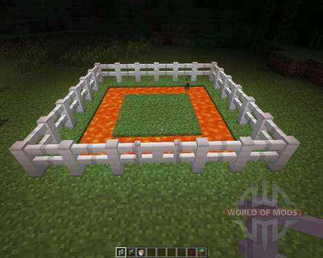 Iron Fence [1.6.2] for Minecraft
