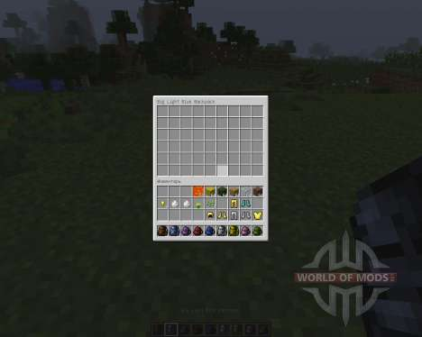 Backpacks [1.7.2] for Minecraft