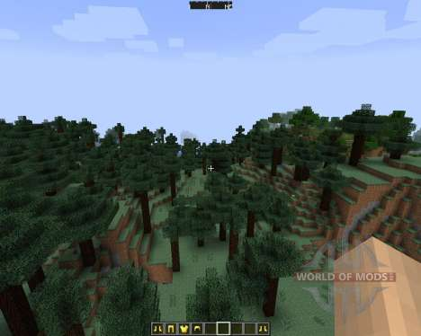 DirectionHUD [1.7.2] for Minecraft