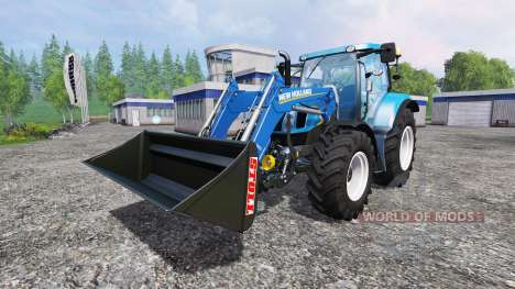 New Holland T6.160 SC for Farming Simulator 2015