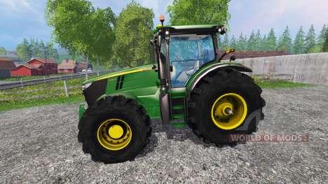 John Deere 7200R forest for Farming Simulator 2015
