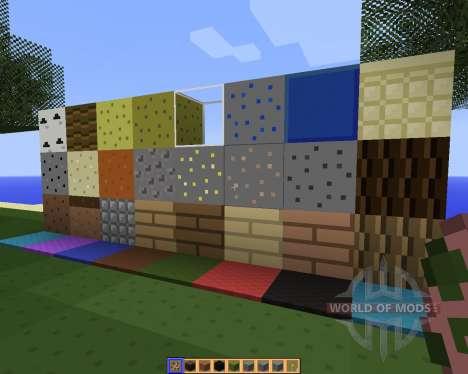 SimpleJCraft 3D [16x][1.8.1] for Minecraft