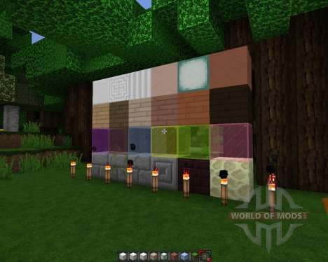 Rectic Pack [64x][1.8.1] for Minecraft