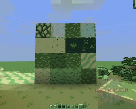 CraftBoy Green [16x][1.8.1] for Minecraft