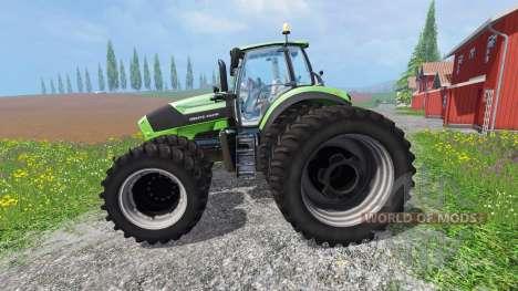 Deutz-Fahr Agrotron 7250 TTV v1.2 for Farming Simulator 2015