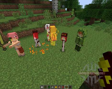 Cute Mob Models [1.7.2] for Minecraft