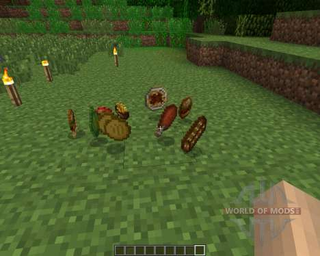 HarvestCraft [1.6.2] for Minecraft