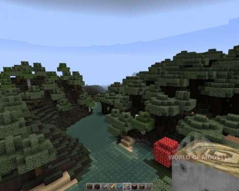Darklands [32х][1.8.1] for Minecraft