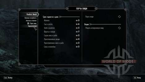Realistic needs and diseases [1.9.9] for the fourth Skyrim screenshot