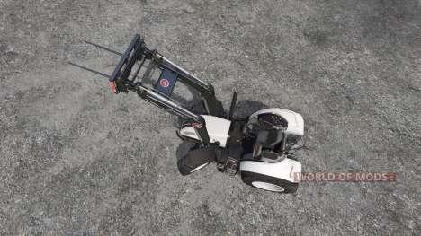 Steyr Multi 4115 roofless for Farming Simulator 2015