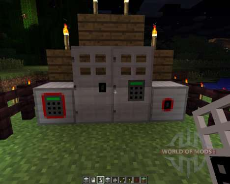 Key and Code Lock [1.6.2] for Minecraft