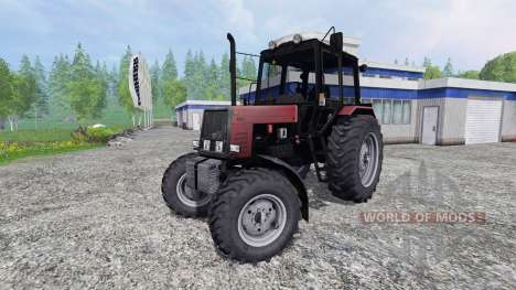 MTZ-Belarus 1025 v2.0 [red] for Farming Simulator 2015