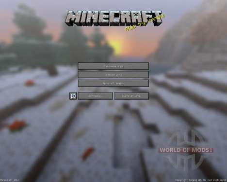 Lithos:Christmas Add-on [32х][1.8.1] for Minecraft