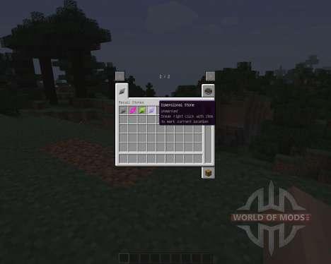 Recall Stones [1.7.2] for Minecraft
