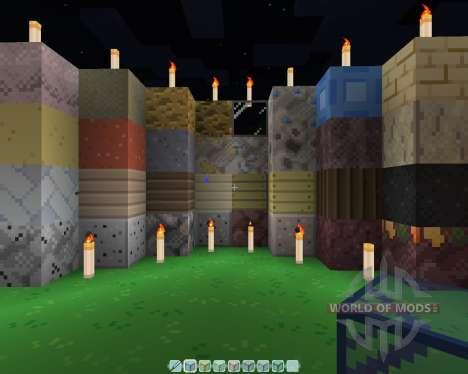 Fire Leaf [16х][1.8.1] for Minecraft