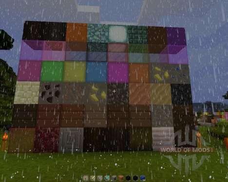 Rustics 128x [128x][1.8.1] for Minecraft