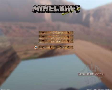 Western pack [64х][1.8.1] for Minecraft