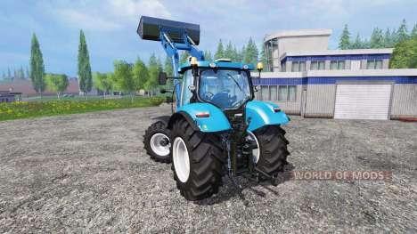 New Holland T6.160 SC for Farming Simulator 2015