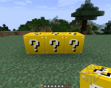 Lucky Block [1.7.2] for Minecraft