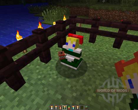 Touhou Alices Doll [1.6.2] for Minecraft