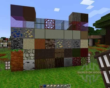 RikudouCrafts Japanese Themed [32x][1.7.2] for Minecraft