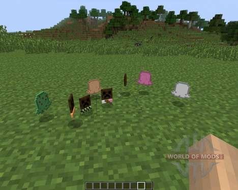 The Ice Cream Sandwich Creeper [1.7.2] for Minecraft