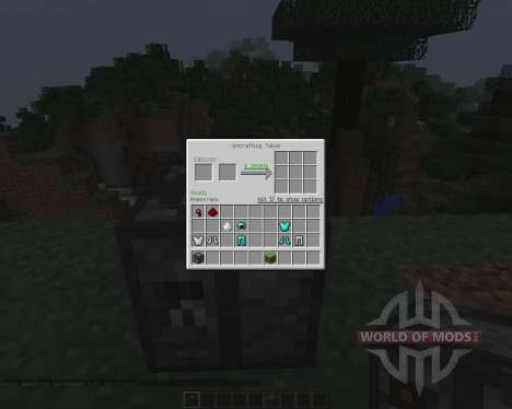 Uncrafting Table [1.7.2] for Minecraft