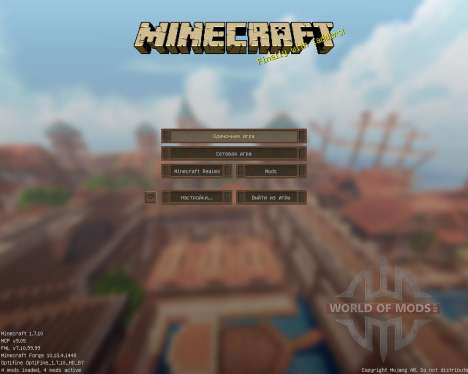 Malcolinus HD [16x][1.7.10] for Minecraft