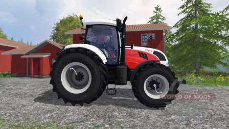Steyr CVT 6230 [edit] for Farming Simulator 2015