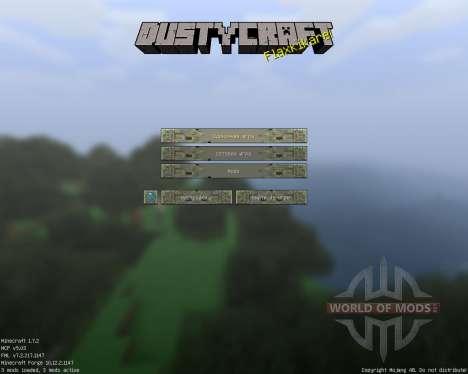Dusty Craft [64x][1.7.2] for Minecraft