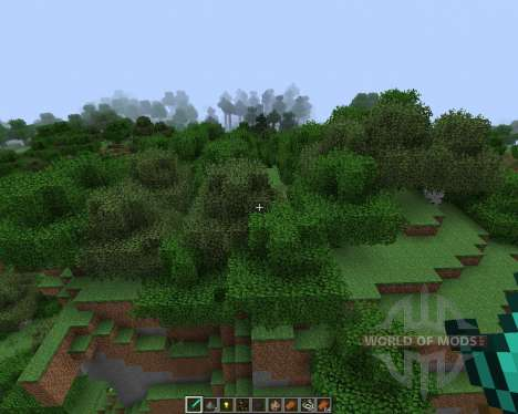 Better Foliage [1.7.2] for Minecraft