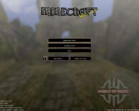 Gothic [64x][1.7.2] for Minecraft