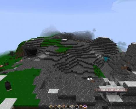 STRANGE CRAFT [128х][1.8.1] for Minecraft