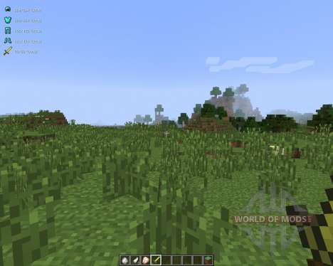 Better PvP [1.7.2] for Minecraft